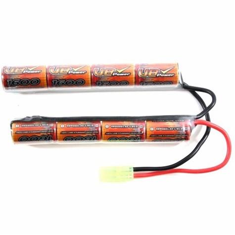 Airsoft VB Power STD 8.4 V 1600 mAh Batterie Taymia Connecteur